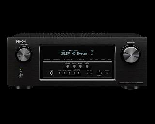 Amplificador denon AVR-S900W Frente