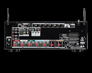 Amplificador denon AVR-S900W Atras